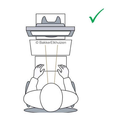 BakkerElkhuizen Monitorständer Q-riser 90 38 x 9,5 x 20 cm (B x H x T) 15kg nicht höhenverstellbar A