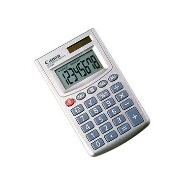 Canon Taschenrechner LS-270H 1 x 8-stellig silber Solar-Energie, Batterie