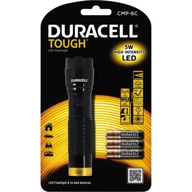 DURACELL Taschenlampe TOUGH™ 144m 265lm LED 3 h AAA/Micro Aluminium