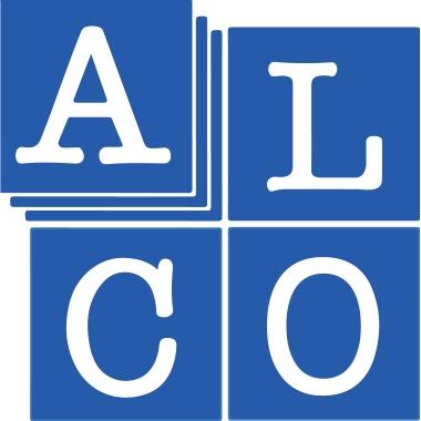 ALCO Büroklammer runde Form 26mm Metall, kunststoffüberzogen weiß 100 St./Pack.