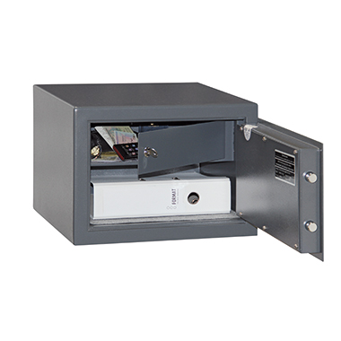 Format Möbeltresor M 410 IT 35 x 22,6 x 29,6 cm (B x H x T) Stahlblech graphitgrau