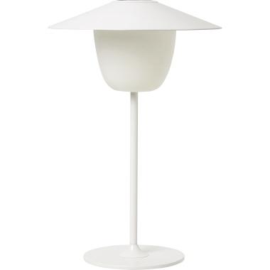 blomus Tischleuchte ANI LAMP 100lm 0,6W A Akku Aluminium, matt pulverbeschichtet weiß
