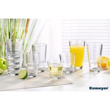 Arcoroc Longdrinkglas STACK UP 290ml Glas glasklar 6 St./Pack.