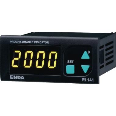 ENDA LED-Anzeige 77 x 34 x 80 mm (B x H x T) LED 9mm