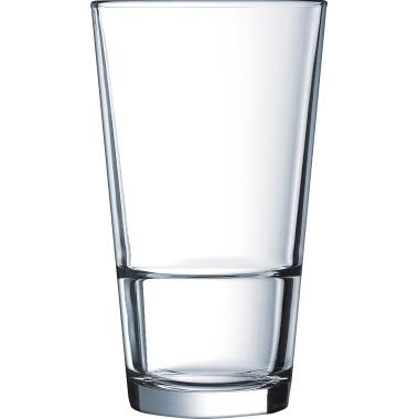 Arcoroc Longdrinkglas STACK UP 350ml Glas glasklar 6 St./Pack.