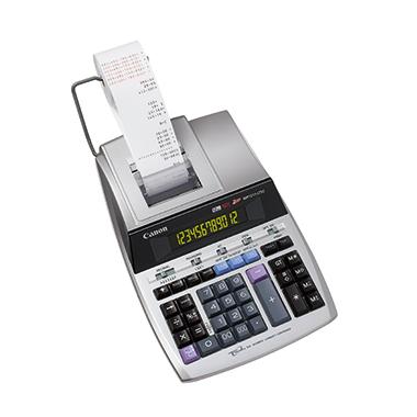Canon Tischrechner MP-1211-LTSC schwarz/rot 219 x 74,5 x 334 mm (B x H x T) Netzbetrieb silber metal