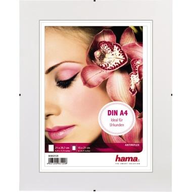 Hama Bilderrahmen Clip-Fix 21 x 29,7 cm (B x H) 15 x 21 cm (B x H) Antireflexglas transparent