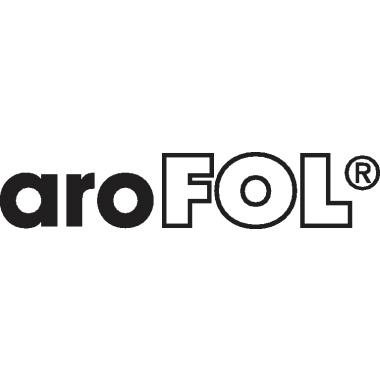 aroFOL® Luftpolstertasche G/4 mit Selbstklebung Kraftpapier weiß/rot
