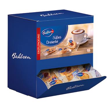 Bahlsen Gebäck Süßes Dreierlei 150 x 6,5 g/Pack.