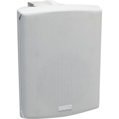 apart Lautsprecher SDQ5P 18 x 25,3 x 16,2 cm (B x H x T) Stereo Netzbetrieb weiß
