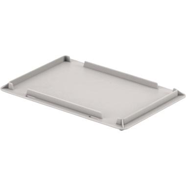 ALUTEC Deckel Aufbewahrungsbox ALUTEC Aufbewahrungsbox 05045 30 x 20 cm (B x T) Polypropylen grau