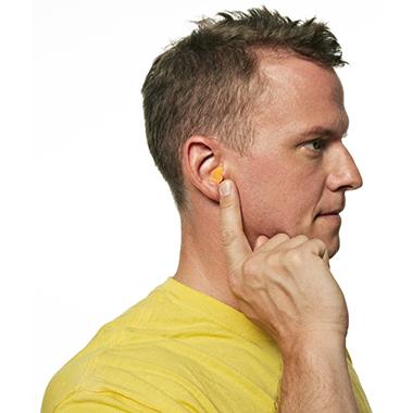 3M(TM) Gehörschutzstöpsel 1100C4 inkl. Aufbewahrungsbox Polyurethan orange 4 x 2 St./Pack.