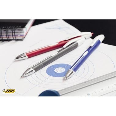 BIC® Kugelschreiber ATLANTIS® Exact 0,35mm schwarz nicht dokumentenecht Farbe des Schaftes: schwarz