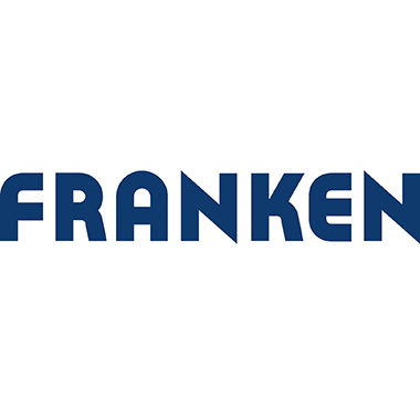 Franken Rolloleinwand X-tra!Line Bildformat: 1:1 Projektionsfläche: 200 x 200 cm (B x H) weiß