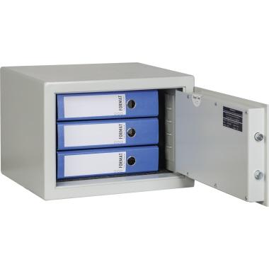 Format Möbeltresor MB 3a 39,9 x 26,2 x 30,2 cm (B x H x T) 53mm Stahlblech lichtgrau