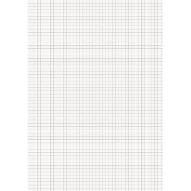Briefblock DIN A4 kariert 70g/m² 50 Bl.