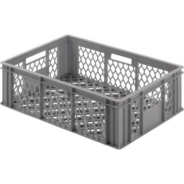 ALUTEC Aufbewahrungsbox 60 x 20 x 40 cm (B x H x T) 39l Polyethylen grau