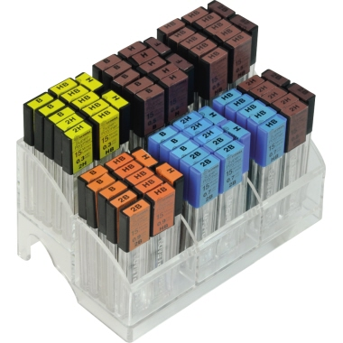 Ecobra Feinmine 0,5mm HB schwarz 15 St./Pack.