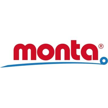 Monta Packband 281 50 mm x 66 m (B x L) Hart-PVC-Folie braun 6 St./Pack.