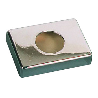 AMPri Hygienebeutelspender 13,5 x 9,5 x 3 cm (B x H x T) Kunststoff chrom