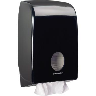 Aquarius Handtuchspender 26,5 x 39,9 x 13,6 cm (B x H x T) Kunststoff schwarz