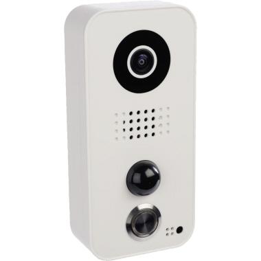 DoorBird Türsprechanlage D101 Außenbereich Android, iOS universell 180° 1 Kamera 2,4GHz inkl. Netzte