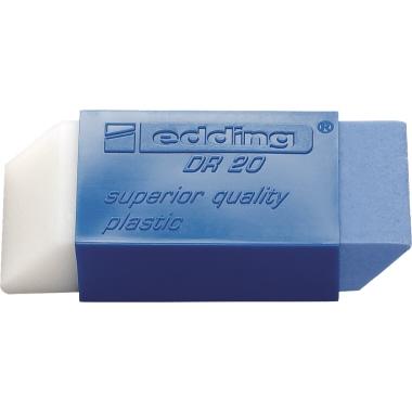 edding Radierer DR 20 Bleistifte, Tintenstifte, Malstifte 2,2 x 1,3 x 5,3 cm (B x H x L) Kunststoff