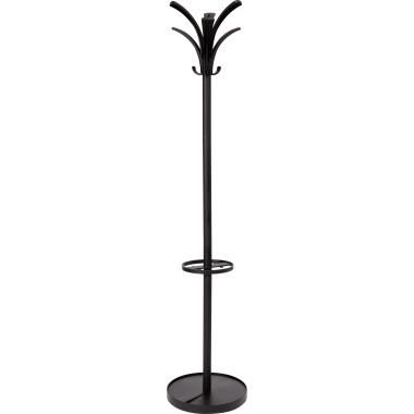 ALBA Garderobenständer Brio 35 x 175 cm (Ø x H) schwarz