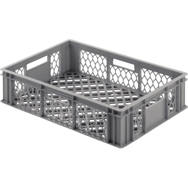 ALUTEC Aufbewahrungsbox 60 x 13 x 40 cm (B x H x T) 24l Polyethylen grau