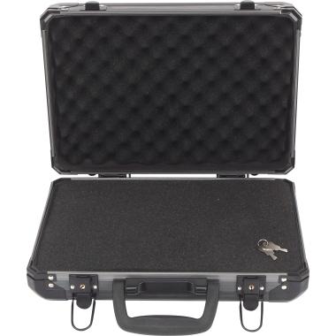 BASETech Werkzeugkoffer 330 x 90 x 230 mm (B x H x T) 5kg inkl. zuschneidbare Schaumstoffeinlage Alu