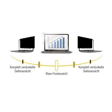 "Fellowes® Bildschirmfilter PrivaScreen™ Blackout Laptops, Monitore 39,62 cm (15,6"")"