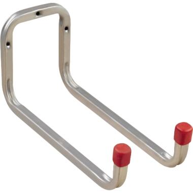 alfer Gerätehalter 25 x 12 x 9,8 cm (B x H x T) 2 Greifer Stahl silber