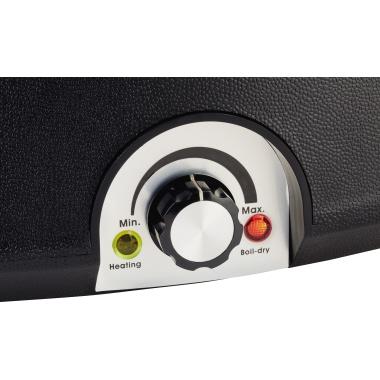 APS Wärmebehälter 10l herausnehmbarer Einsatz, Wasserbad, Löffel, integrierter Tragering für Innenbe
