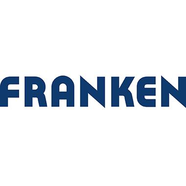Franken Rolloleinwand X-tra!Line Bildformat: 1:1 Projektionsfläche: 180 x 180 cm (B x H) weiß