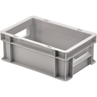 ALUTEC Aufbewahrungsbox 30 x 12 x 20 cm (B x H x T) 5l Polypropylen grau