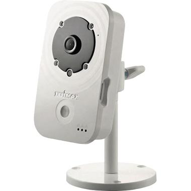 EDIMAX Überwachungskamera IC-3140W Innenbereich Cube 78° nicht funkgesteuert Netzbetrieb schwarz/wei
