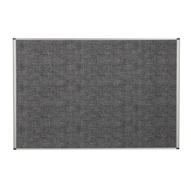 Bi-office Lärmschutzwand Evolution 900 x 600 mm (B x H) Polyethylenschaum grau