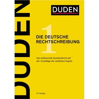 DUDEN Wörterbuch Die deutsche Rechtschreibung 27 Deutsch 1.264 Seiten