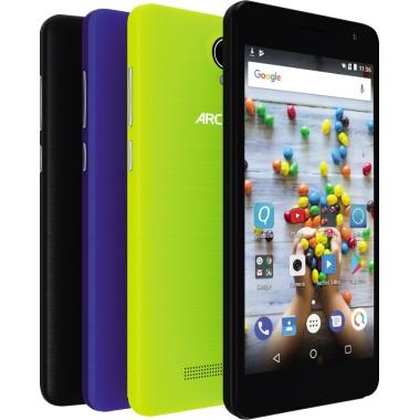 "Archos Smartphone Junior 12,7 cm (5"") 854 x 480 Pixel 8 Gbyte Android 7.0 Nougat inkl. 3 Schutzhülle"