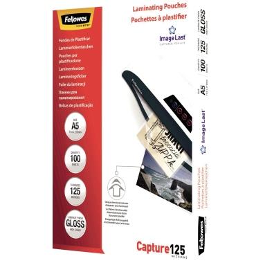 Fellowes® Laminierfolie ImageLast™ Capture 125 216 x 160 mm (B x H) DIN A5 125µm glänzend 100