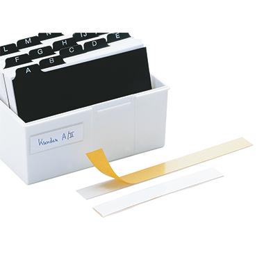 DURABLE Schilderrahmen Labelfix® 20 x 1,5 cm (B x H) PVC transparent 10 St./Pack.