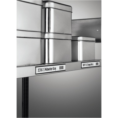 DURABLE Schilderrahmen 20 x 3 cm (B x H) Polyethylen/Metall anthrazit 5 St./Pack.