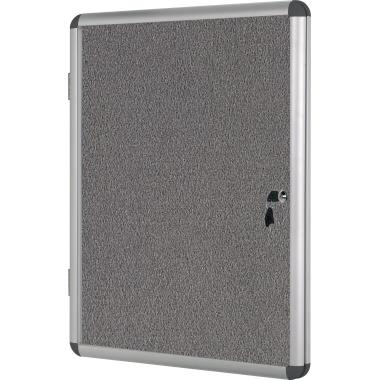 Bi-office Schaukasten Enclore Innenbereich 72 x 64,4 x 3,5 mm (B x H xT) mit Schloss Aluminium alu
