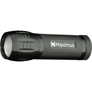 MAXIMUS Taschenlampe 13m 120lm LED 2,5 h AAA/Micro Aluminium