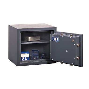 Format Sicherheitsschrank Libra 1 Innenmaße: 418 x 370 x 295 mm (B x H x T) 135mm Doppelbartschloss