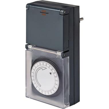 brennenstuhl® Zeitschaltuhr MZ 44 15min grau