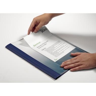 DURABLE Selbstklebetasche POCKETFIX® 14,8 x 21 cm (B x H) DIN A5 Weichfolie transparent 25 St./Pack.