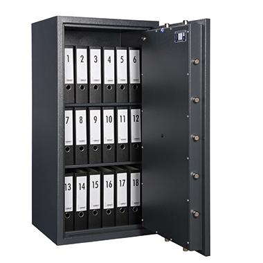 Format Sicherheitsschrank Libra 40 Innenmaße: 528 x 935 x 365 mm (B x H x T) 135mm Stahlblech graphi