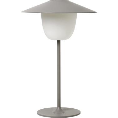 blomus Tischleuchte ANI LAMP 100lm 0,6W A Akku Aluminium, matt pulverbeschichtet satellite