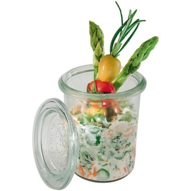 APS Vorratsglas 6 x 8 cm (Ø x H) 0,16l Glas transparent 12 St./Pack.